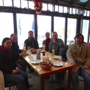 Von links nach rechts: Melanie Medenilla, Günther Fieger, Pfr. Piotr Wandachowicz, Susanne Fersch, Reiner Pittinger, Benedict Medenilla